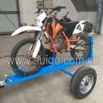 单台摩托车拖车架